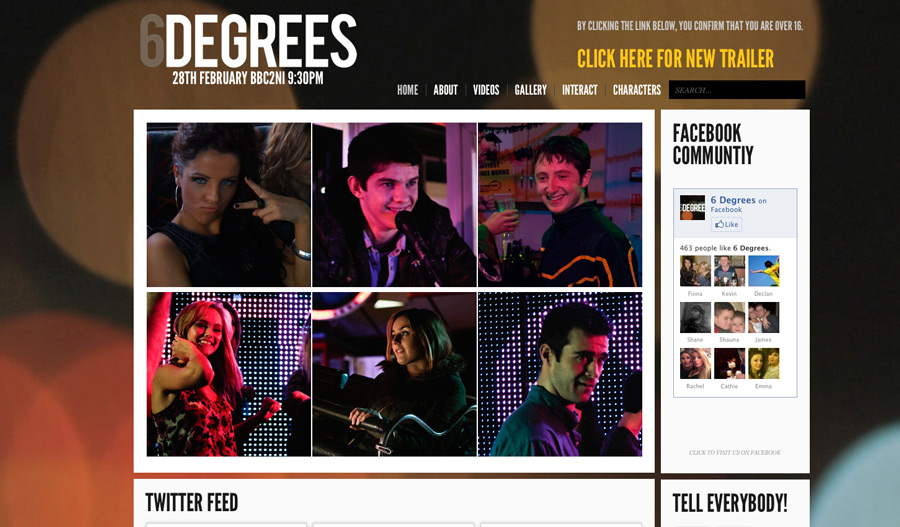 Massive Update to www.6degreesni.com