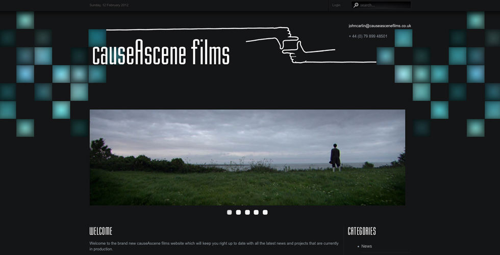 Cause A Scene Films website goes live